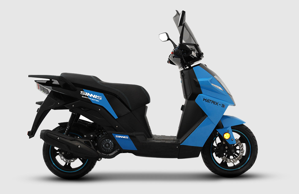 Matrix 125 in blue